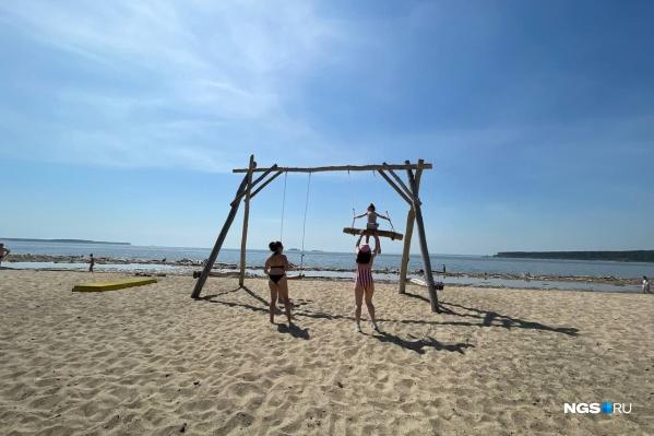 Сейчас на территории Новосибирской области нет ни одного официально работающего пляжа