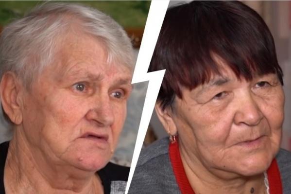 Валентина (слева) и Василя&nbsp;<nobr>38 лет</nobr> воспитывали не своих детей, и за это они хотят по 10 миллионов в качестве компенсации морального вреда