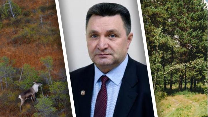 Директор тюменского госохотдепартамента Василий Щепелин покидает пост