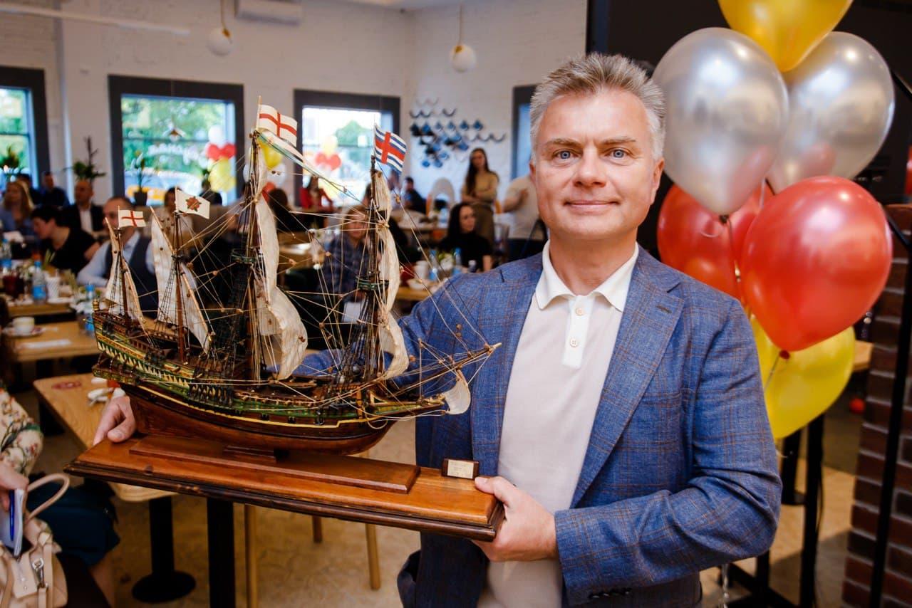Виталий Свидовский, генеральный директор группы компаний «Теремок» в Санкт-Петербурге