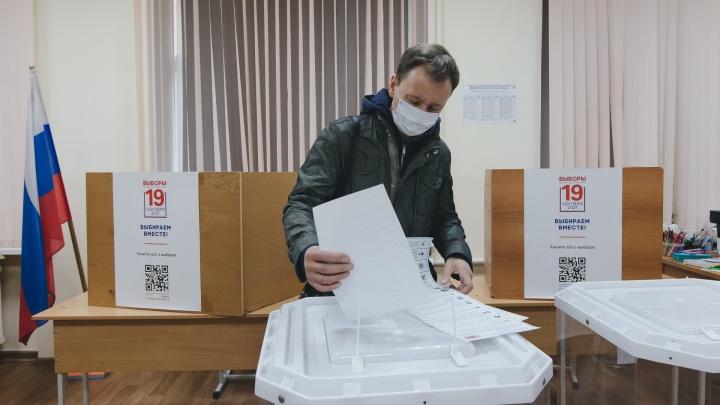 Липецк голосующий: фоторепортаж с избирательных участков