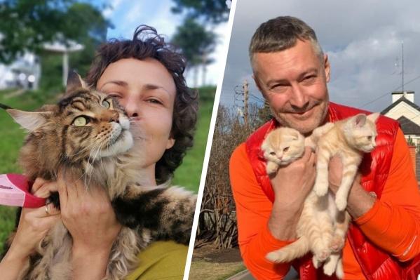 У многих известных уральцев есть котики