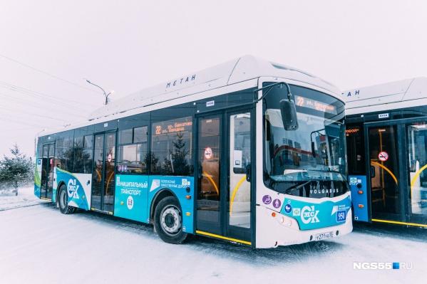 Новый автобус рвется в бой на улицы Омска