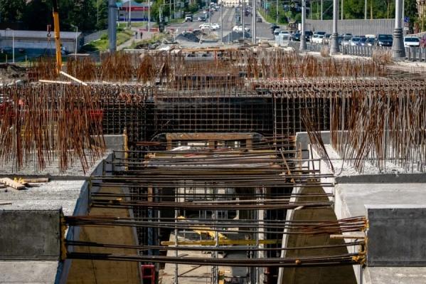Запрет движения связан с ремонтными работами на Макаровском мосту