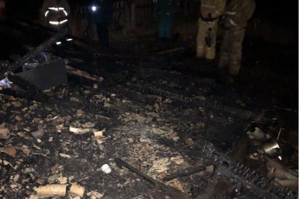Тела погибших нашли в дачном домике