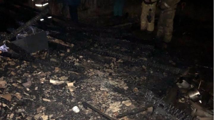 На сгоревшей под Лесосибирском даче погибли двое человек