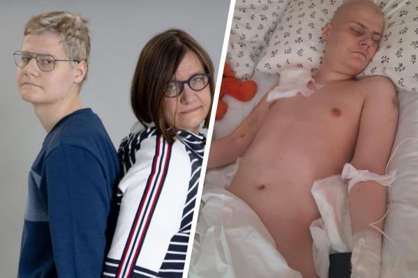 И сын, и мама болеют раком