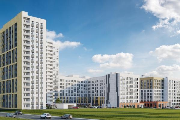 Новоселов порадует развитая инфраструктура: рядом Балатовский парк, детские сады, школы, ТРК и спорткомплексы