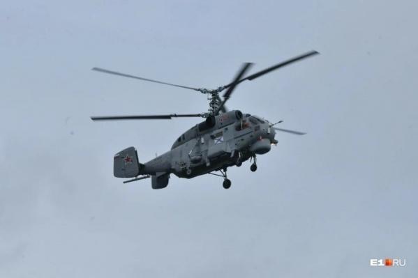 По предварительным данным, Ка-27 совершал учебный полет
