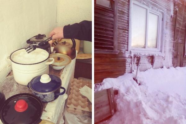 На Краснофлотском — топят снег, на Сульфате — ставят к трубам обогреватель