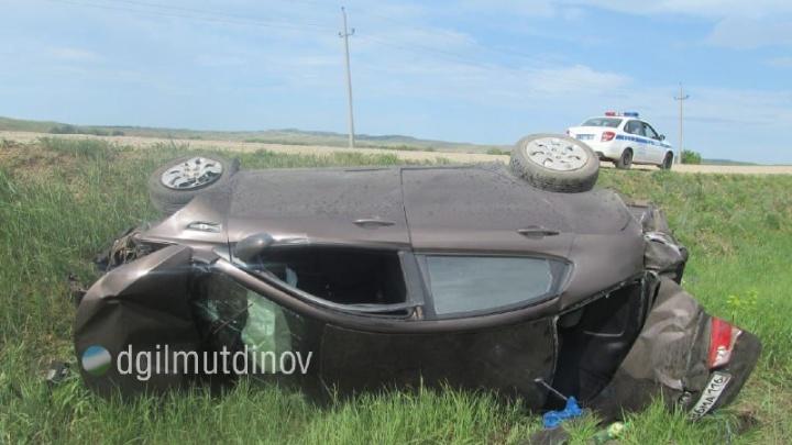 В Башкирии 15-летняя девочка из Татарстана сломала позвоночник в автоаварии