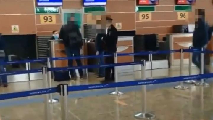 Появилось видео задержания сына экс-губернатора Самарской области