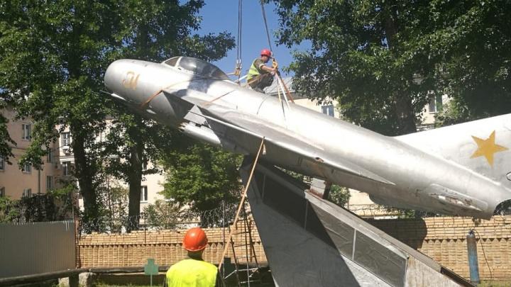 Памятник истребителю МиГ могут установить в микрорайоне Волгарь