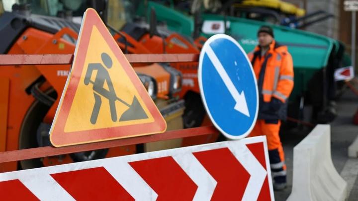 В Краснодаре на месяц продлили ремонт выезда из микрорайона Гидростроителей