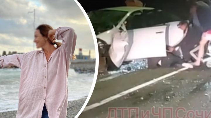 В аварии с Ксенией Собчак в Краснодарском крае погибла уроженка Новосибирска