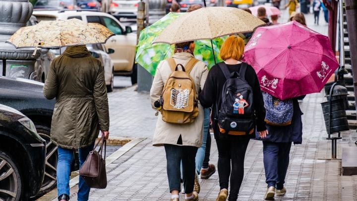 МЧС предупреждает жителей Прикамья о сильном дожде и мокром снеге
