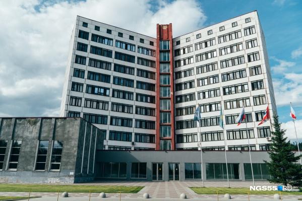 Прототипом здания стали московские высотки, которые были построены в шестидесятых