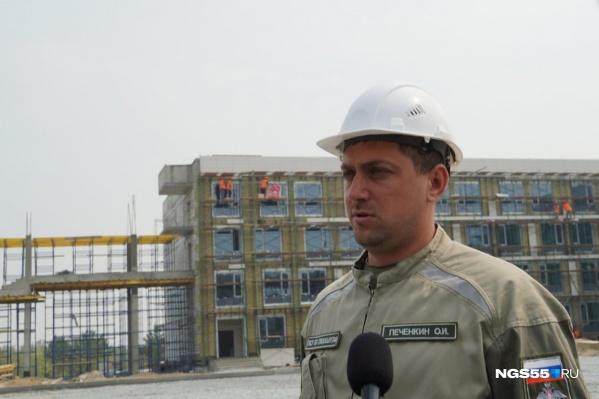 Большинство строителей работали на аналогичных объектах в других городах