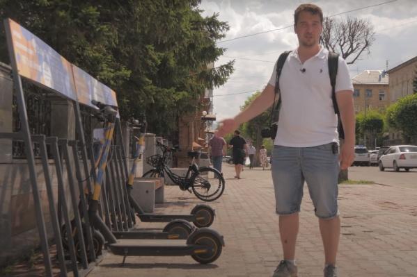 Даже пришествие сервисов по прокату самокатов не обрадовало урбаниста — это сезонное развлечение, пока в городе не будет велодорожек