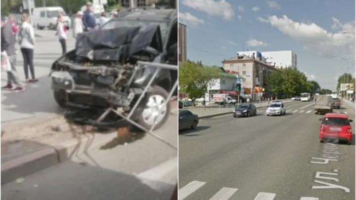 «Взял бутылку водки и поехал к жене»: на Червишевском тракте пьяный водитель устроил аварию