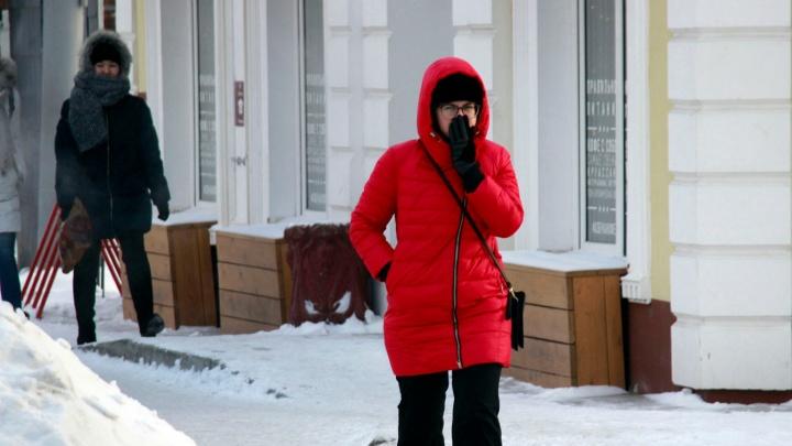 Новость от синоптиков №2: на смену метели в Омскую область придут сильные морозы