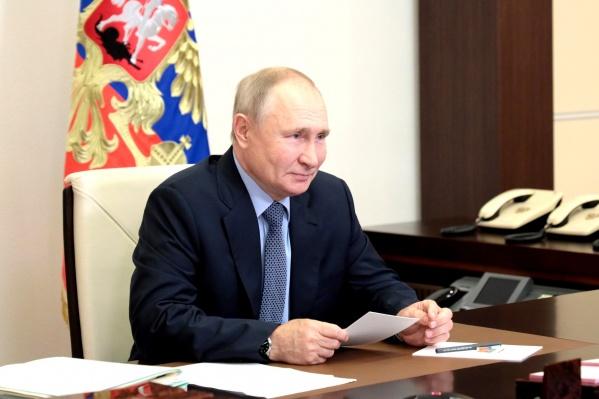 В Кремле говорили, что Путин успел зарегистрироваться для онлайн-голосования