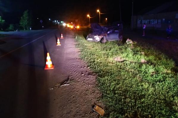 Пешеход скончался на месте аварии