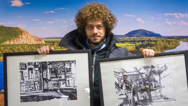Руководитель галереи «Облака» в Уфе — о картинах для Ильи Варламова: «Вручим ему вместе с презентом»