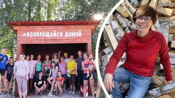 От арт-остановки до молодежного центра: как северяне делают родное село самым уютным в Поморье