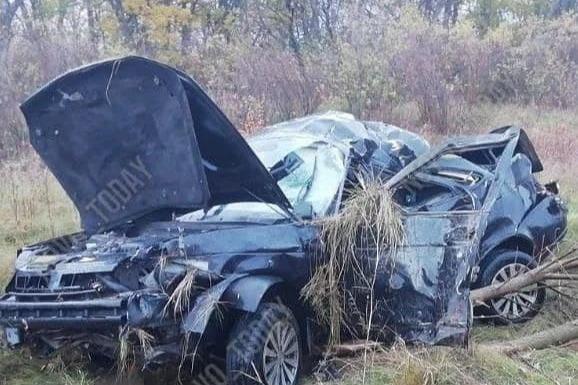 Под Волгоградом в перевернувшейся «Приоре» погиб 33-летний водитель