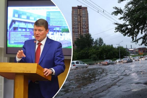 Ливневки не справились с залповым дождем, город снова затопило