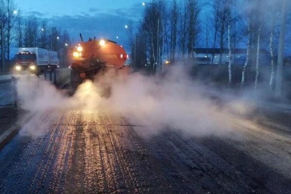 Окружную дорогу ремонтируют каждый год