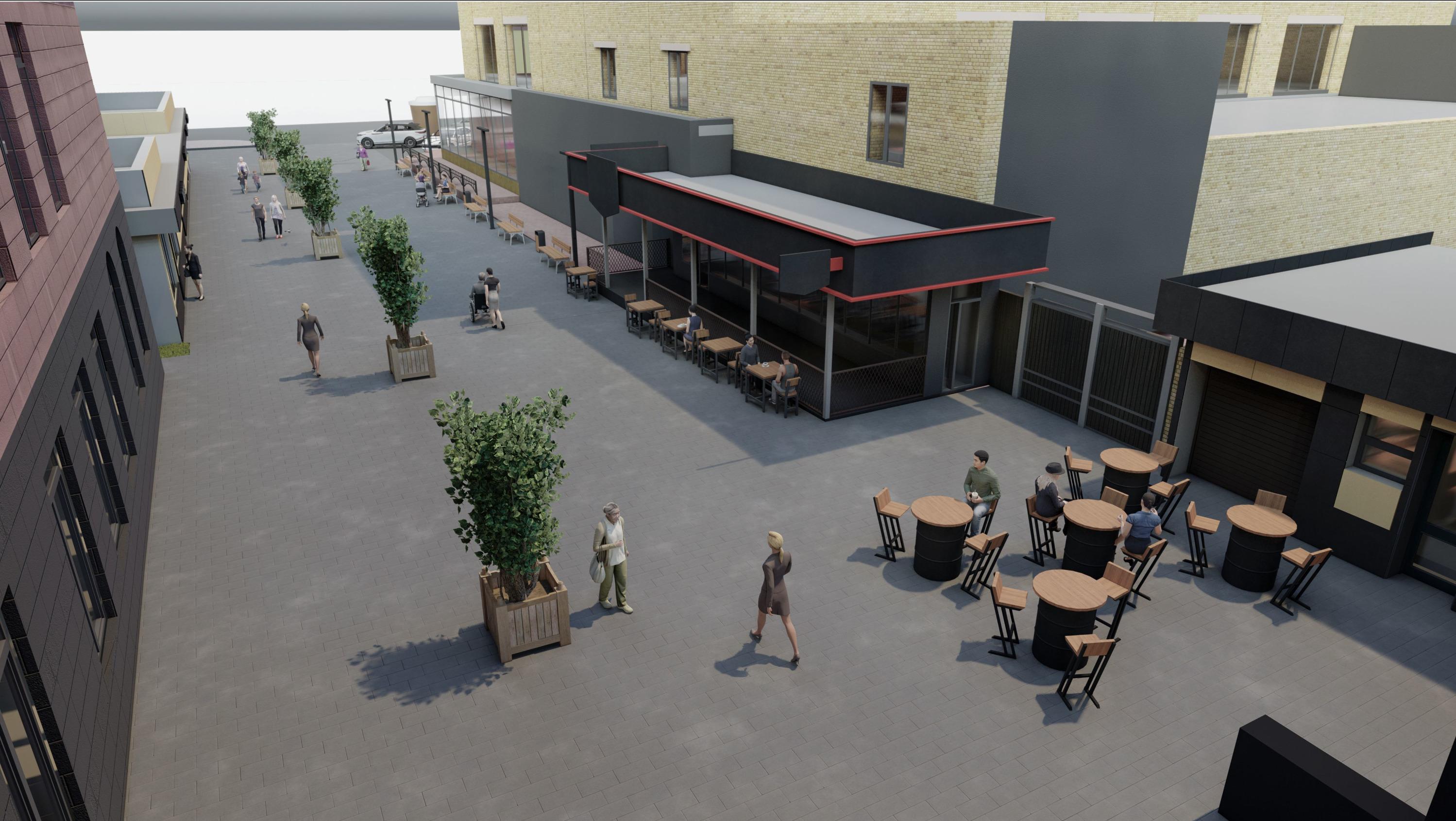 Пространство за памятником Поздееву хотят сделать комфортным для жителей города