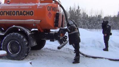 В Нефтеюганском районе за кражу из газопровода задержали четверых. Показываем видео