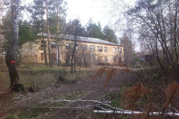 Так выглядит бывший детский летний лагерь «Салют»