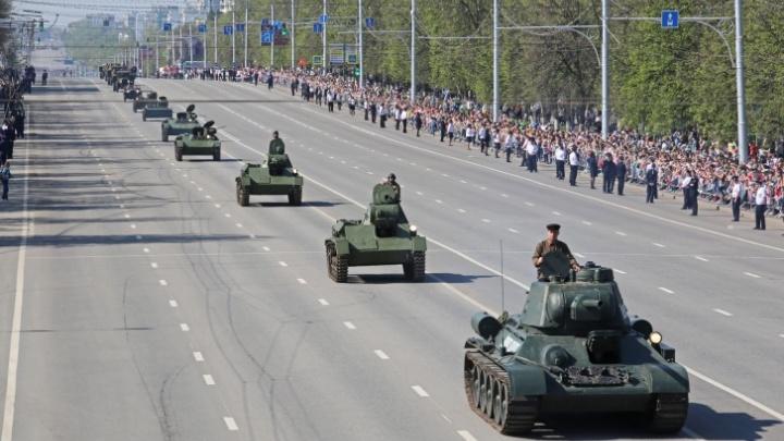 В Уфе перекроют проспект Октября из-за репетиций военного парада в честь Дня Победы