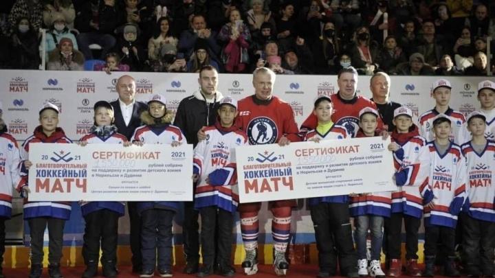 В Норильске завершился хоккейный «Матч звезд»