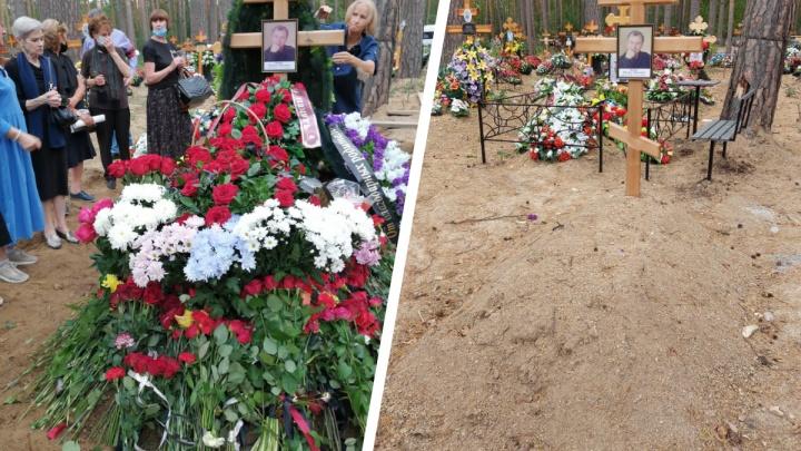 На Широкореченском кладбище разграбили могилу основателя театра балета «Щелкунчик»