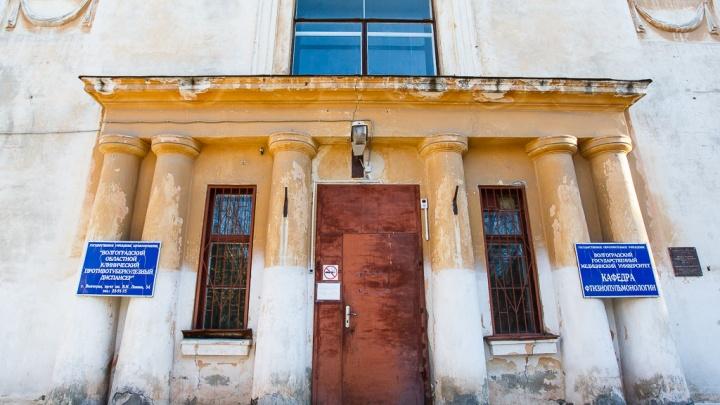 В тубдиспансере Волгограда найден сгоревший в палате пациент
