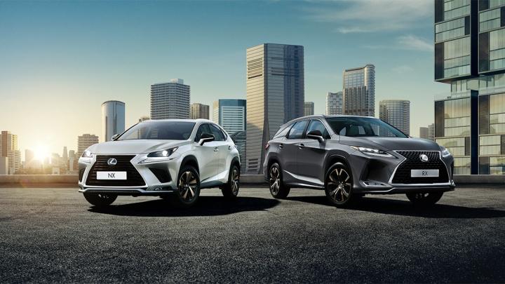 Lexus зафиксировал цены на автомобили до сентября