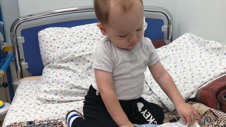 Мальчик из Волгограда, получивший «укол жизни» за 160 миллионов, госпитализирован в Москве