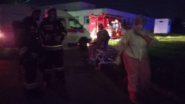 Пожар в COVID-отделении Ярославля: есть погибшие. Онлайн-трансляция
