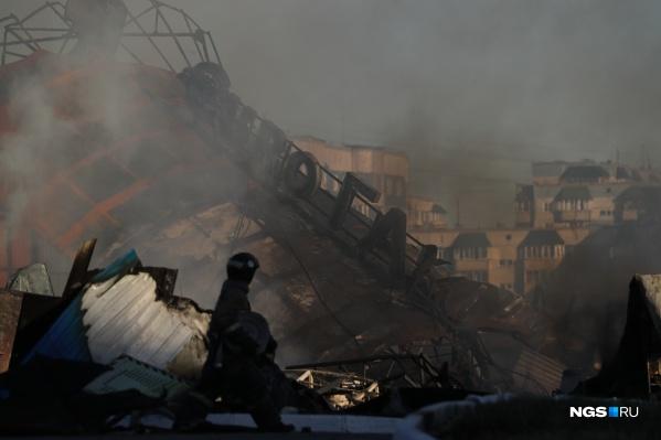 14 июня стал особенно горячим днем для новосибирских пожарных