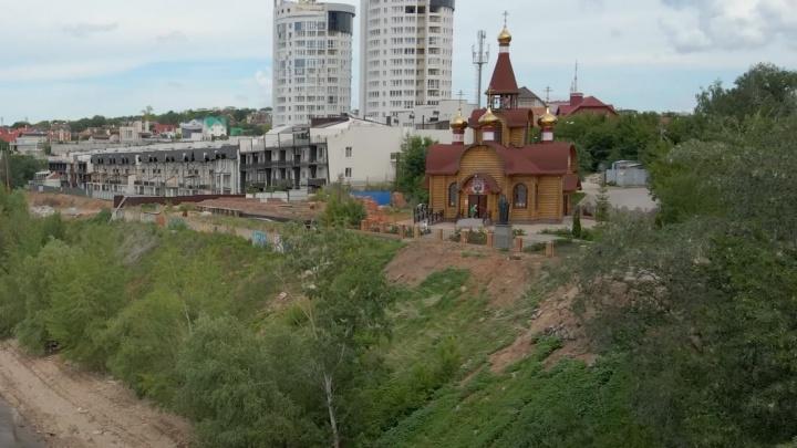 В Самаре РПЦ уличили в незаконном строительстве еще одного храма