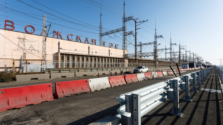 Пока только попробуем: на Волжской ГЭС меняют схему дорожного движения
