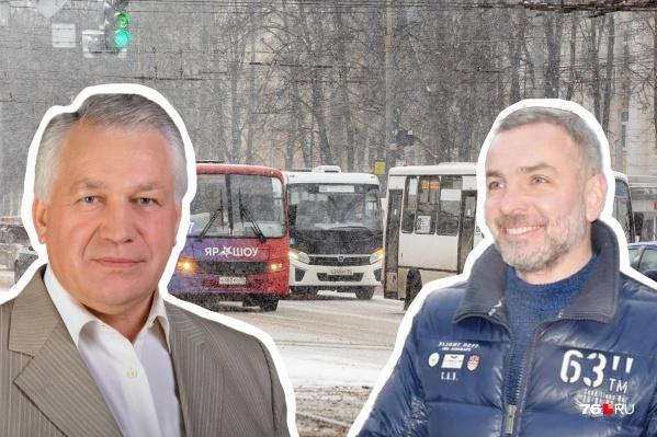 Виктор Волончунас и Алексей Малютин всю жизнь живут в Ярославле и имеют опыт управления городом