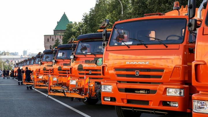 Чтобы было чисто. В Нижний Новгород привезли 30 единиц новой коммунальной техники
