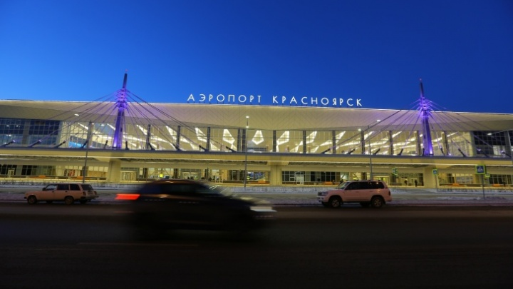 В красноярском аэропорту аварийно сел самолет МЧС: задержаны 4рейса