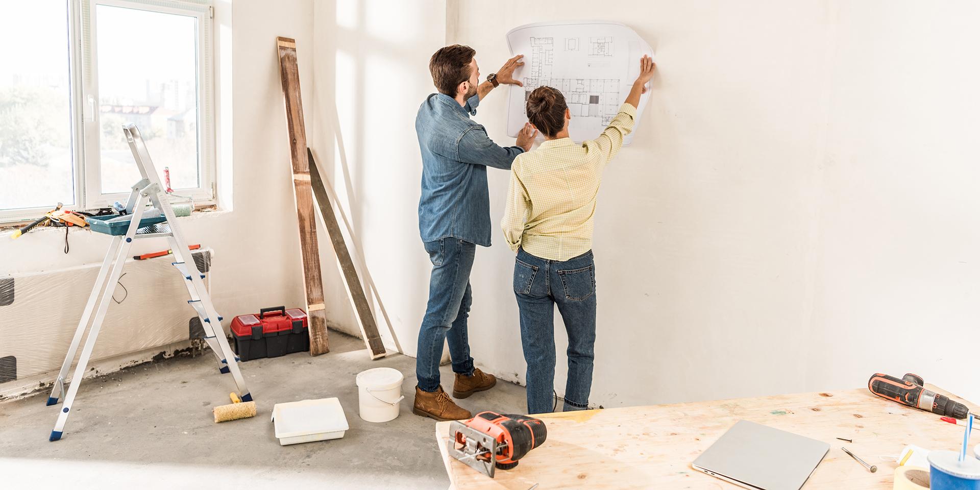Выбирая банк и подходящие условия ипотеки, закладывайте бюджет и на ремонт нового дома