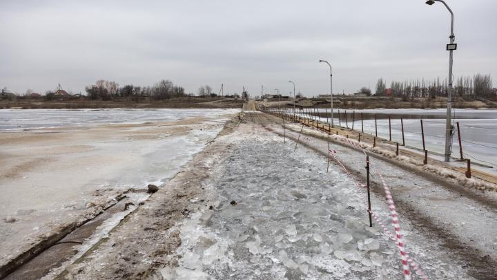 «Эту весну он уже не переживет»: подВолгоградом вновь обрушился мост черезАхтубу